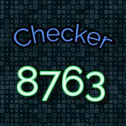Checker 8763